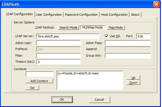 Notes: Windows + pGina + LDAPAuth + SSL